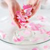Rose Petal Spa Stock Photo