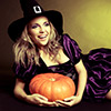 Stock Images: Happy Witch